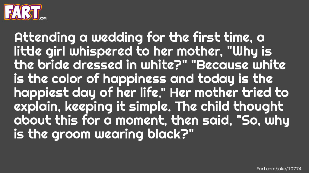 Wedding Joke Joke Meme.