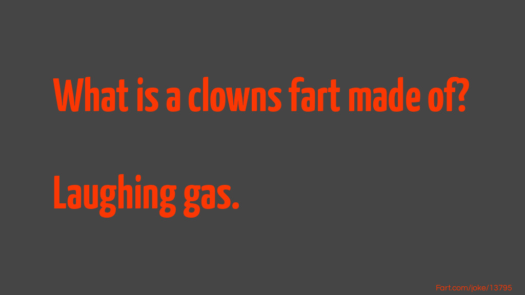 Clowns Farts Joke Meme.