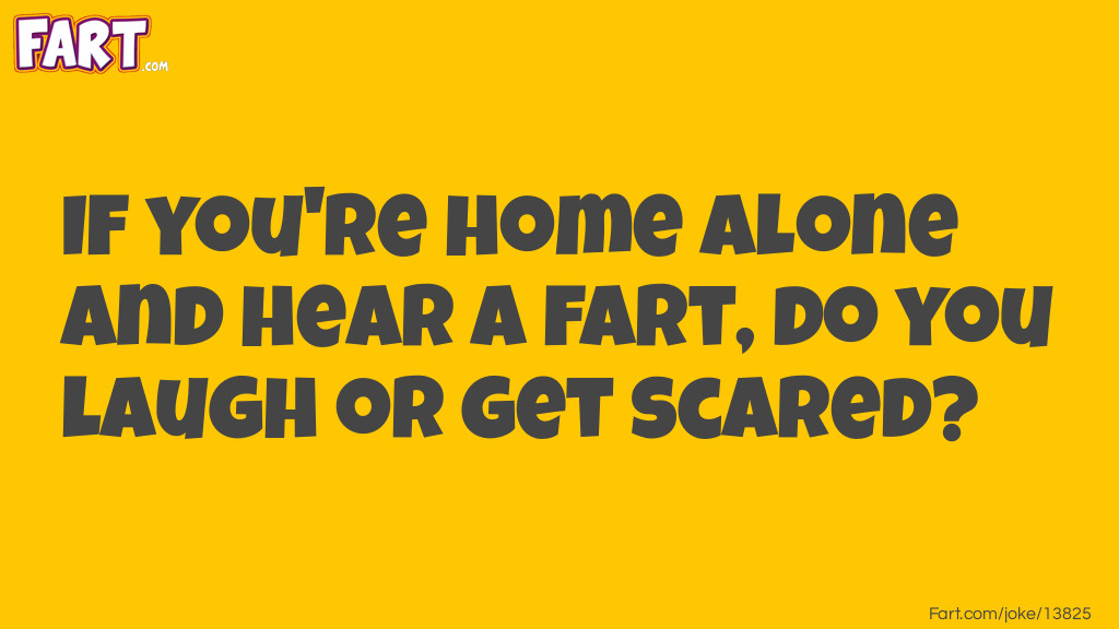 Home Alone Fart Joke Meme.