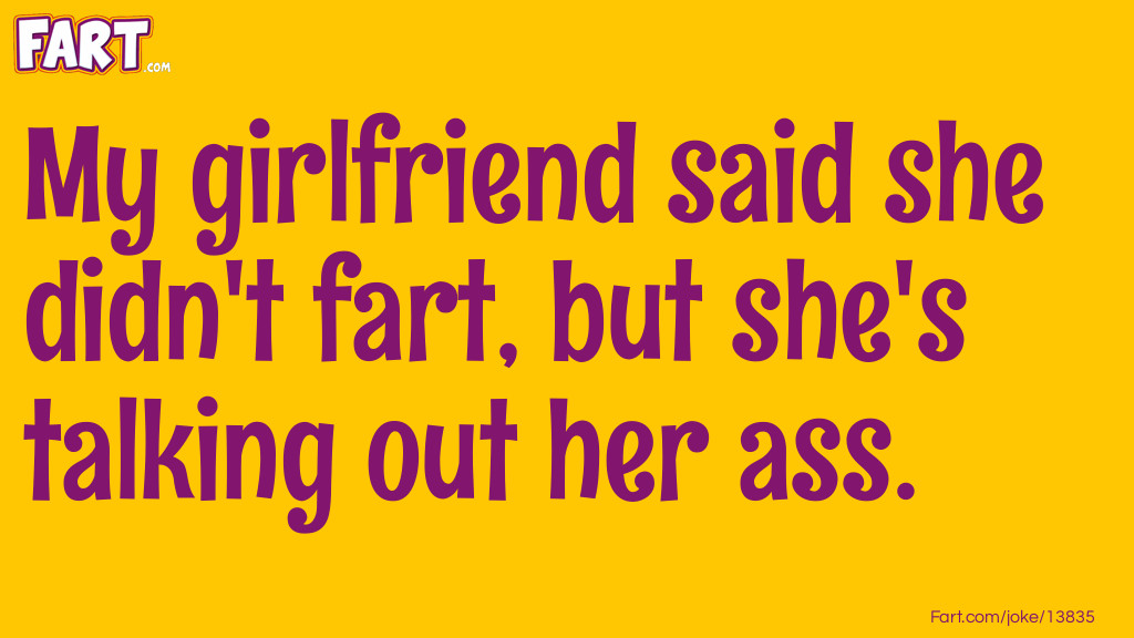 Girlfriend Fart Joke Meme.