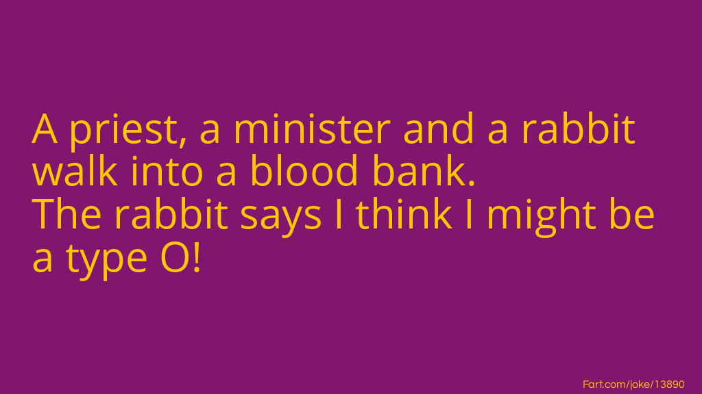 A Priest, a minister and a rabbit... Joke Meme.