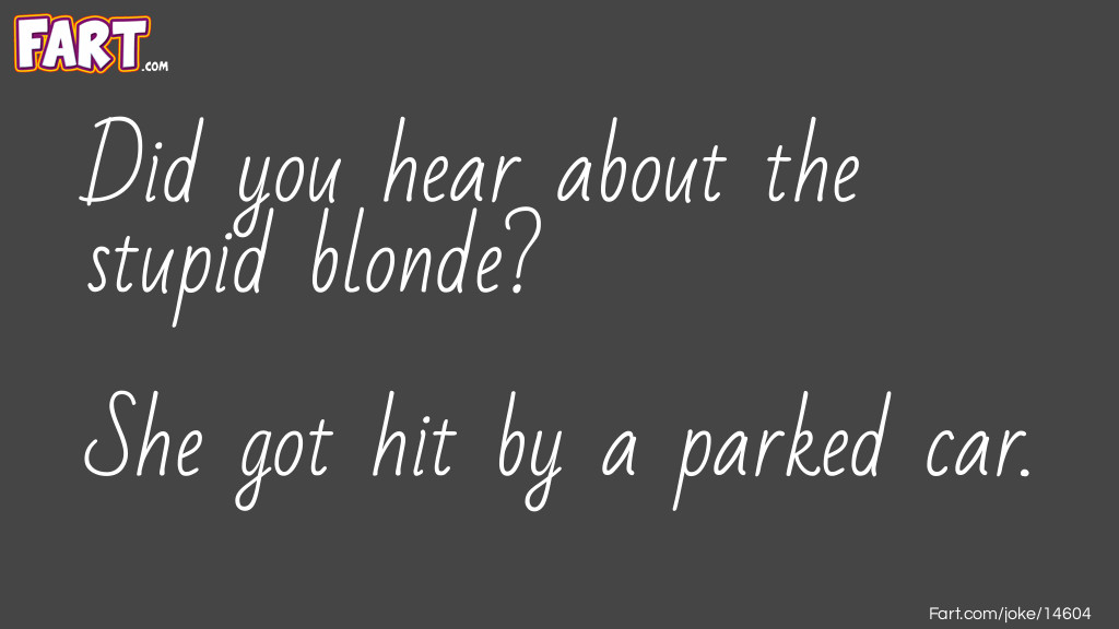 Free Parking Joke Meme.