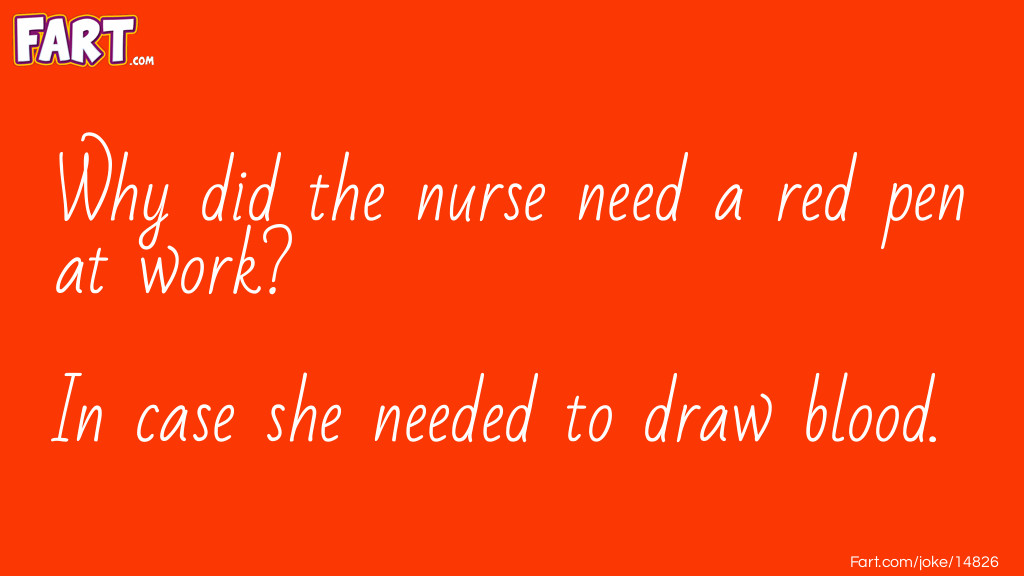 Red Pen Joke Joke Meme.