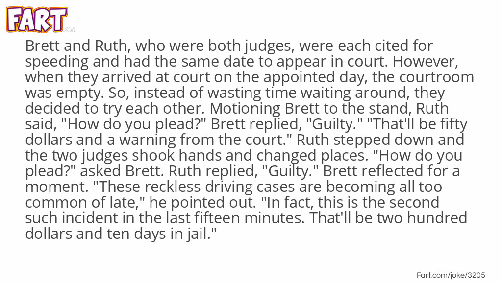 Duelling Judges Joke Meme.